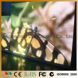 Colore completo P4 dell'interno HD LED del video schermo che fa pubblicità alla visualizzazione