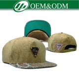 カスタムSnapback Hat Embroidery Baseball Caps 3D