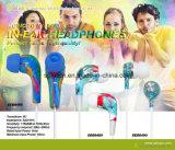 Nuevo auricular bajo impreso colorido 2016