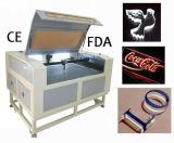 80W / 100W Máquina de corte láser para plexiglás con Ce FDA