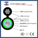 Câble fibre optique extérieur autosuffisant extérieur de SM de Gyxtc8s