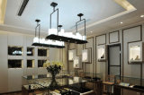そうすばらしい型の装飾的なホテルのシャンデリアL950mmのハングランプの照明
