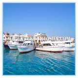 8h Satin High Strenth Tissu en verre pour yachts