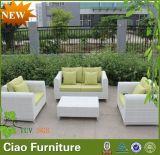Mobilia di vimini C-Esterna del patio del sofà