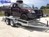 Tandem Alxe Trailer 16X6 Rampe de chargement réglable de voiture (SWT-CT126)
