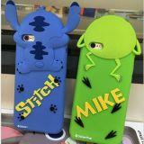 Caja del teléfono del silicón de la puntada de Mike para el iPhone