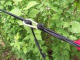 Im Freienarbeitsweg-Ropes kampierende Fallschirm-Silk doppelte leichte bewegliche Hängematte frei u. Carabiners