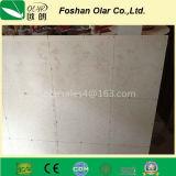 Panneau isolant de tissu-renforcé de panneau de ciment à verre soluble de calcium
