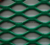 Haute qualité Hot Sale Vinyl Coated Expanded Metal for Garden Fence (usine ISO 9001)