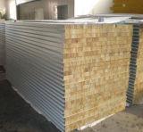 Изолированные пожаробезопасные алюминиевые панели сандвича шерстей утеса подгоняли
