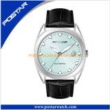 多項選択はGeniuneの革バンドが付いている腕時計を防水する