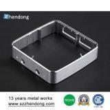 Caja de aluminio de la protuberancia de la fábrica de la pieza de metal de Shenzhen para el PWB