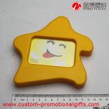 Frame de retrato bonito plástico da decoração da HOME dos desenhos animados da forma da estrela