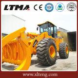 판매를 위한 Ltma 농기구 로더 8t 로그 로더