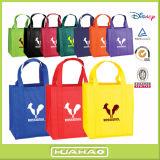 Sacs d'emballage promotionnels d'épicerie avec le logo fait sur commande