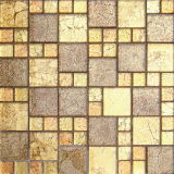 Mosaico di vetro dorato di arte (VMW3105)