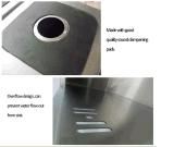 18 het Roestvrij staal dat van de maat Ss304 de Gootsteen van de Keuken vormt (YX8143)