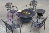 Muebles al aire libre del aluminio de la estufa de la barbacoa del patio del ocio