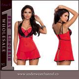 卸し売りUnderwear Nightwear Babydoll Sexy女性Chemise (33001)