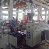Sjsz80 플라스틱 원뿔 쌍둥이 나사 압출기 PVC 관 밀어남 선