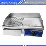 電気高品質のステンレス鋼のグリドル商業Dpl-818-2