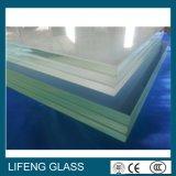 Vidrio laminado ultra claro de PVB para la pared de cortina
