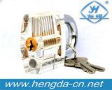 Opinião interna do Cutaway Yh9288 da mini picareta transparente da habilidade do treinamento do fechamento do cadeado da prática para o Locksmith