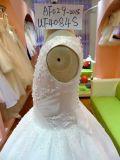 Bebê de venda quente e roupa adolescente UF4084s de Flowergirl do vestido da menina