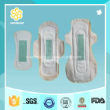 Anion descartável Sanitary Pads Sanitary Napkins com Breathable Backsheet