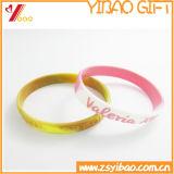 Wristband relativo à promoção da batida do silicone (YB-LY-WR-43)
