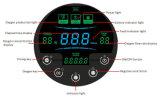 O gerador Home Ew-50A do concentrador do oxigênio dos cuidados médicos do uso dirige a cor do preto do gerador do oxigênio do carro do curso