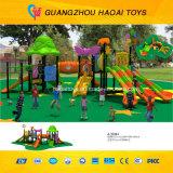 Equipamento ao ar livre pré-escolar do campo de jogos da boa qualidade (A-15110)