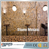 Mosaico de mármol Polished natural del modelo para la decoración interior