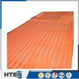 Painéis de parede padrão da água da membrana do aço de carbono de ASME ou do aço de liga