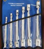 Flexi-Kopf 6PC Kasten-Kontaktbuchse-Schlüssel (JD81600)