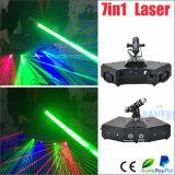 Laser principal movente flabelado da exploração da cor cheia