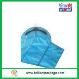 Coperchio non tessuto del vestito dell'azzurro con la chiusura lampo