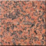 Lajes vermelhas de pedra naturais de Tian Shan do granito para telhas e bancadas