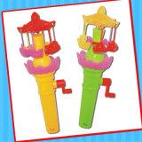 甘いキャンデーのたらいが付いているフラッシュおかしいおもちゃ
