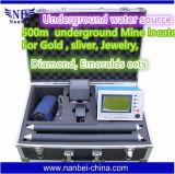 Macchina sotterranea del rivelatore dell'oro del metal detector della visualizzazione dell'affissione a cristalli liquidi