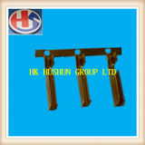 Terminale d'ottone femminile del rifornimento (IEC), utilizzato in una spina dei 3 perni (HS-FT-001)