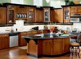 Portelli degli armadi da cucina di Lacquring di legno solido dell'acero