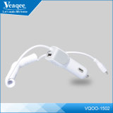 Veaqee Mobile Phone Car Charger con Cable ed il USB Interface