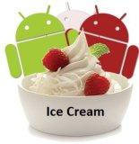 Sabor suave de la fresa del polvo del helado
