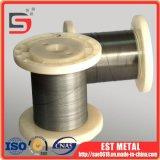 fio da memória da forma de 0.3mm ASTM F2063-2012 Nitinol com superfície Polished