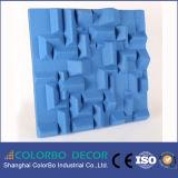 Панель волокна полиэфира строительного материала нутряная акустическая