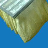 Bolso de filtro amarillo de la parada de la pintura de la alta calidad del color