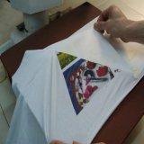 Светлая бумага Tranfer жары Inkjet с низкопробным утюгом желтого цвета изображения для тканиь