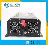 C.C. da qualidade 12V 24V 48V do melhor Sell a melhor aos inversores puros 3000W 4000W da potência do condicionador de ar da onda de seno da C.A. 220V fora da fábrica da grade