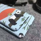 Cute Panda Pattern Water Transfer Printing Hardshell Phone Case